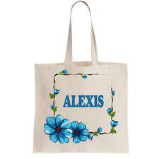 Alexis Ladies Personalised Shopping Bag Tote can amend to ANY NAME required