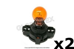 SAAB 9-5 (2006-2009) Turn Signal Light Bulb 12V - 24W (PY24WNA) FRONT (2) OEM