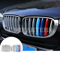 For BMW X3 F25 ABS Front Center Grille Grill Molding Cover Trim 14pcs 2011-2017