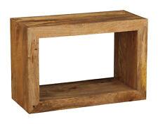 Manhattan Light Mango Furniture Single Storage Cube (h16l)