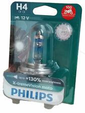H4 PHILIPS X-treme Vision MOTO +130% vibrationsbeständig 10G 12342XV+BW