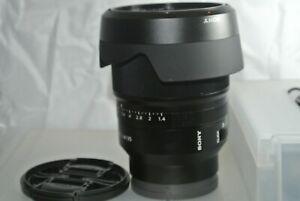 Sony Zeiss Distagon T* FE 35mm f1.4 ZA Lens for Sony E Mount  - SEL35F14Z