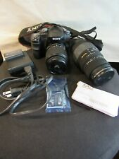 Sony DSLR-A100 Camera Outfit
