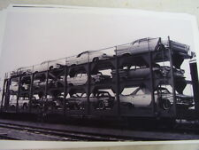 1960 PLYMOUTH  1960 DODGE  NEW CARS ON TRAIN CAR   11 X 17  PHOTO  PICTURE