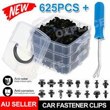 625x Car Trim Panel Clips Kit Rivets Retainer Door Panel Bumper Plastic Fastener