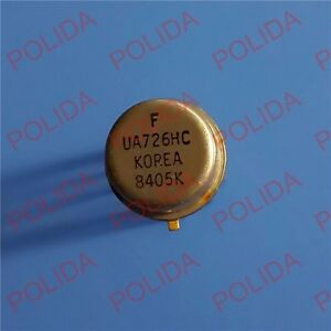 1PCS CONTROLLED DIFFERENTIAL PREAMPLIFIER IC FAIRCHILD TO-100 ( CAN-10 ) UA726HC