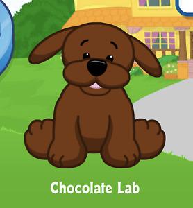 Webkinz Chocolate Lab Virtual Adoption Code Only Message Webkinz Chocolate Lab!!