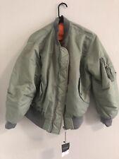topshop reversible bomber jacket women's US size 4