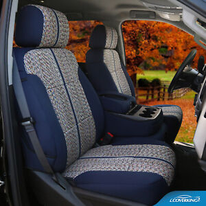 Premium Saddle Blanket Tailored Seat Covers for Ford F Series - Made to Order