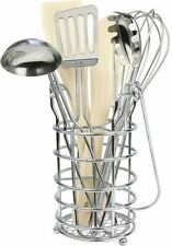 Click N Play 7 Piece Kitchen Cooking Utensils Play Set In Holder