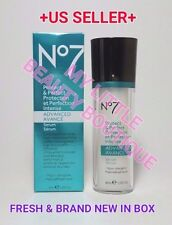 BOOTS NO 7 PROTECT & PERFECT intense ADVANCED serum ANTI-AGING Metroxyl 3000 1oz