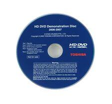 HD DVD Toshiba 2006 / 2007 Demo Disc - RARE, Collectable Australian HDDVD - Used