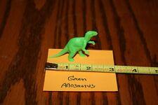 Vintage 1960's Green Allosaurus Dinosaur Hudson's Department Store - Marx Mpc