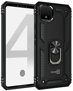 CoverON Google Pixel 4 / XL Case Magnetic Ring Kickstand Phone Cover + Screen