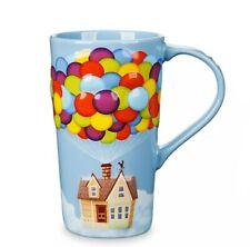 Disney Pixar UP Russell House Balloons Tall Coffee Mug NWT
