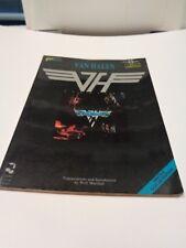 Van Halen First Album Songbook Cherry Lane Music Guitar Tablature Vocal