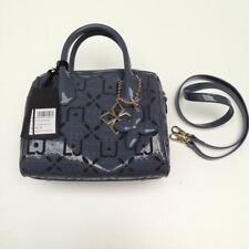 Liu Jo Damen Handtasche Melanie Antracite Kunststoff Grau A64018E0085-93906