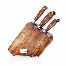 Holz Messerblock Messerset 6-tlg. inklusive Messer Bernardo