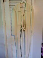 Dana Buchman Size 12 Silk Ivory Jacket