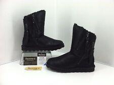 Bearpaw Mimi Black Faux Snake, Sheepskin,Wool Never Wet Boots. Size 7 SN 1901W
