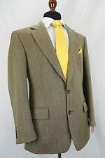 Men's Savoy Taylor's Guild Tweed Herringbone Suit 40R W34 L28.5 EZ470