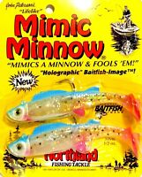 Northland Rainbow Trout Mimic Minnow Paddle Tail/ Shad Tail ( One Package )