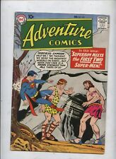 Adventure comic 257 Superboy Superman Green Arrow Full page ad for Flash 105