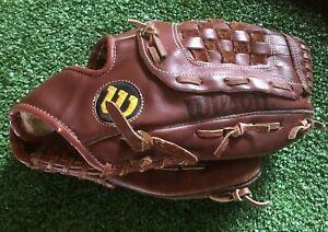 "Wilson A2655 Dave Righetti Fieldmaster 12"" Leather Youth Baseball Glove RHT"