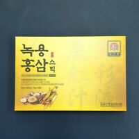 Korean Red Ginseng Extract Deer Antlers Stick 15g x 30pcs Immunity Supplements
