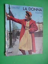 Le Femme Magazine Mode Septembre Octobre 1943 Automne Sarr Vintage Magazine