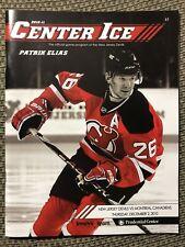 New Jersey Devils Center Ice Program 2010-11 Patrik Elias 12/2/2010