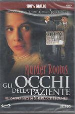 Dvd **MURDER ROOMS ♦ GLI OCCHI DELLA PAZIENTE ♦ SHERLOCK HOLMES** nuovo 2001