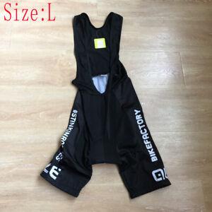 2021 Mens Team Cycling bib shorts 9D Gel Pad Bicycle bib Tights Bike bib pants L