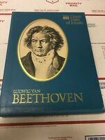 Time Life Great Men Of Music Cassettes Beethoven Set of 4