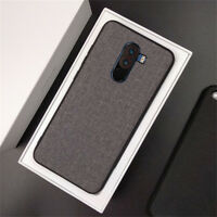 POCO F1 Shockproof Case Fabric Texture TPU Cover For Xiaomi Mi A1 A2 Lite Max 3