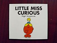 Little Miss Curious by Roger Hargreaves 1990 Paperback