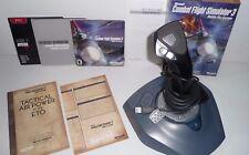 Logitech Wingman Attack 2 Controller & Microsoft Combat Flight Simulator 3 Used