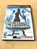 Dance Dance Revolution Supernova 2 New Factory Sealed Playstation 2 PS2 Rare