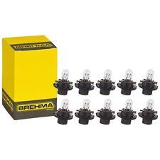 10x BREHMA BX8.4d Schwarz Instrumentenbeleuchtung 12V 1,2W Tacholampen