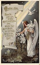 BG20192 uk angel woman fantasy flower dove