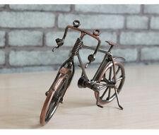 Home Decoration Retro Metal Bike Model Craft Bicycle Figurine