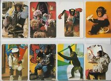 12 Pocket Calendar Animals Monkeys 1987 Collectible vintage Collectible vintage