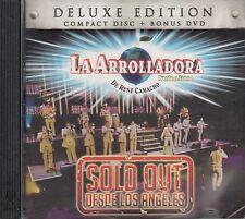 La Arrolladora Banda El Limon Deluxe Edition CD+DVD Open CD