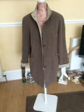 Bhs Brown Beige 80% Wool Coat Size  14 Pristine . Holiday 9 May  UnTil 16 June