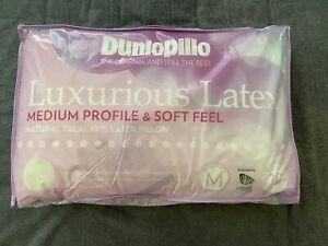 Dunlopillo Latex Pillow - Medium Profile, Soft Feel