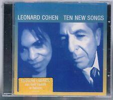 LEONARD COHEN TEN NEW SONGS CD LIMITED EDITION F.C. SIGILLATO!!!!
