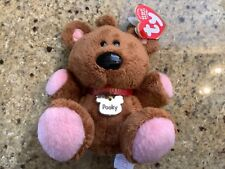 Vintage Ty Original Pooky Beanie Baby Retired 2004 Garfield Beanbag Plush
