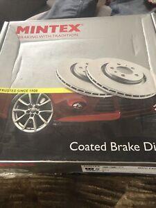 Front Brake Disc Left Axle Fits PORSCHE 911, Boxster, Cayman Mintex MDC1429LC