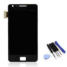 NEUF noir pour Samsung Galaxy S2 II i9100 Écran complet vitre tactile LCD coque