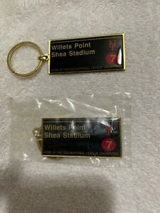 New York Mets (Willets Point Shea Stadium) Key Chain (7 Train)